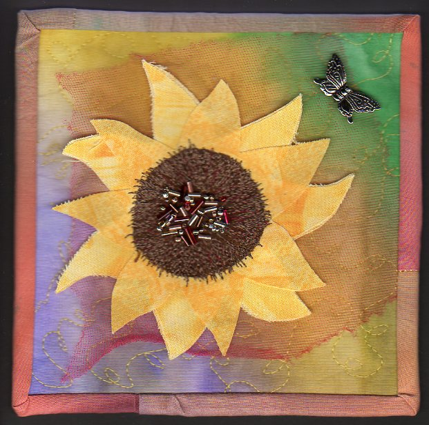 Sunflower Time by Vickie Jones