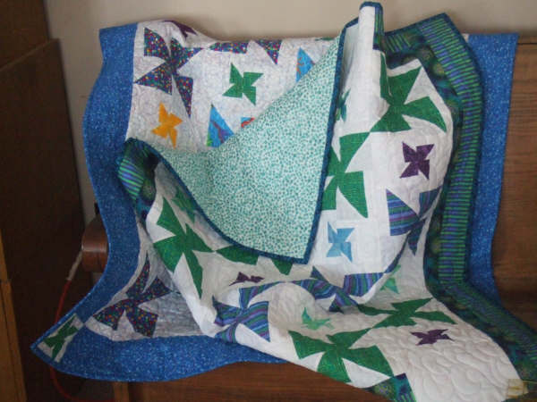One of Twila's quilts.